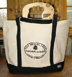 Merlin Tree Bag Black