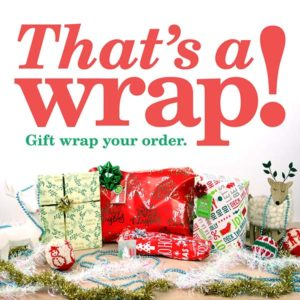Gift Wrapping for $3